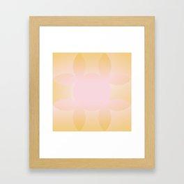 Sunrise Illumination Gradient Framed Art Print