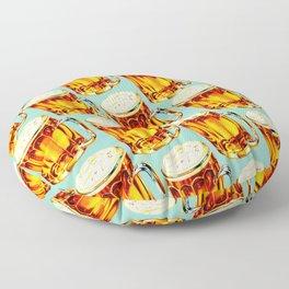Beer Pattern 2 Floor Pillow
