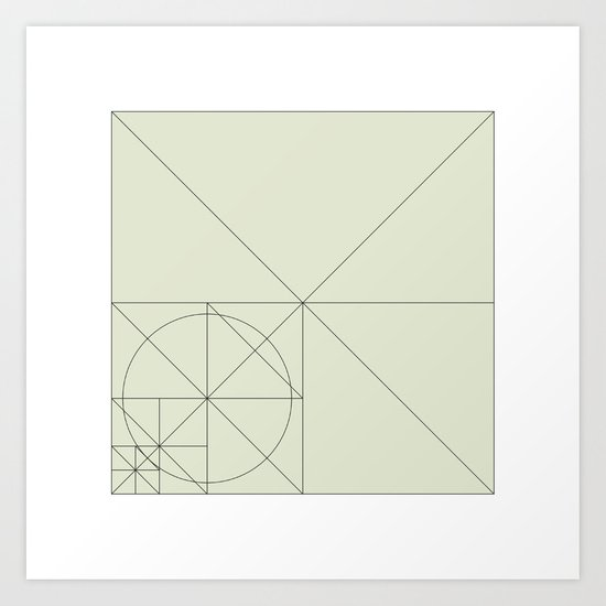 #93 Intruder on the radar – Geometry Daily Art Print