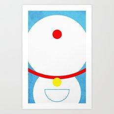 Doraemon Art Print