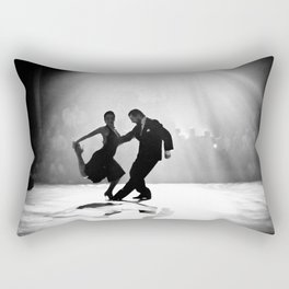 Tango in Black Rectangular Pillow