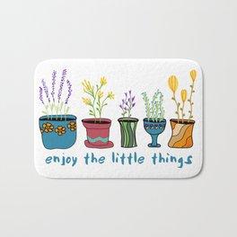 Enjoy the Little Things Bath Mat