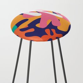 Matisse Pattern 010 Counter Stool