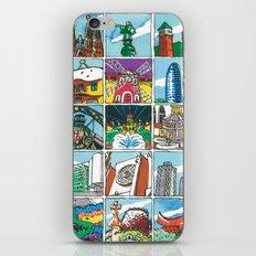 Barcelona anno 1 iPhone & iPod Skin