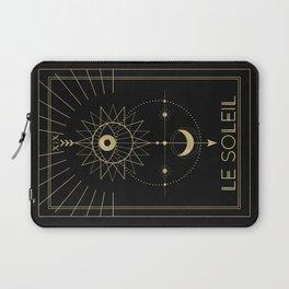Le Soleil or The Sun Tarot Laptop Sleeve