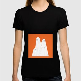 Cute ghost clip art, Independence fun art, Halloween clip art haunted spooky digital designs . T-shirt