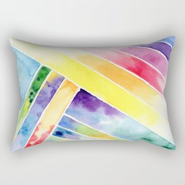 bright abstraction Rectangular Pillow