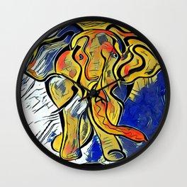 Lilys Elephant Wall Clock