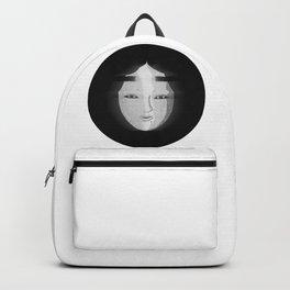 Japanese noh mask Backpack