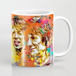 The Stones Pop Art Painting Coffee Mug