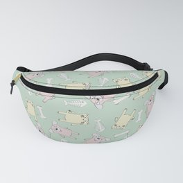 Raining Cats and Dogs (Patterns Please) Fanny Pack