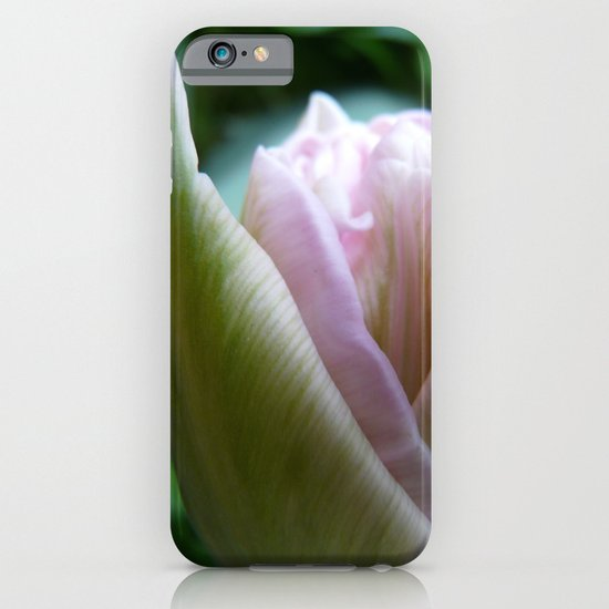 FLOWER ROMANCE IN GREEN AND ROSE iPhone & iPod Case