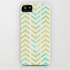 GREEN AND BLUE ARROWS Slim Case iPhone (5, 5s)