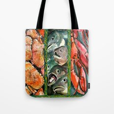 Frome the sea Tote Bag