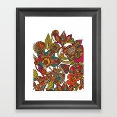 Ava's garden Framed Art Print