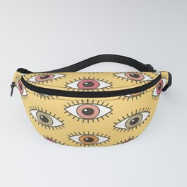EYES WIDE OPEN - BUTTER YELLOW Fanny Pack