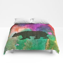 Grin and Bear it Comforters