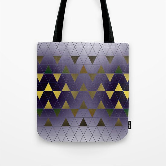 Golden Triangles Tote Bag