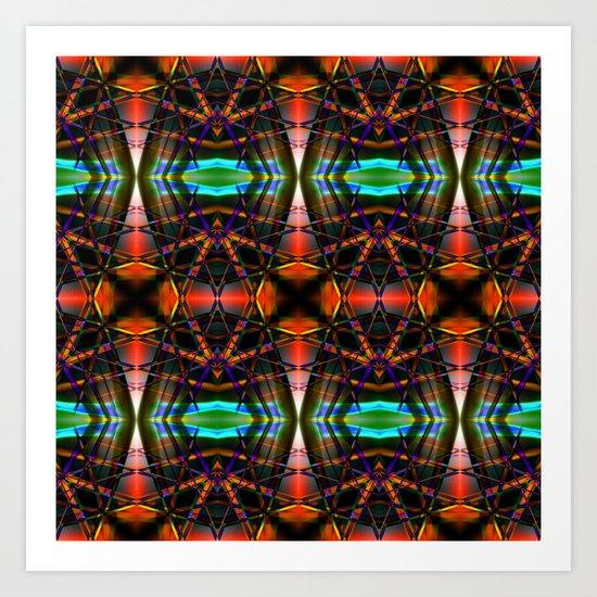 Psycho Quilt 1 Art Print