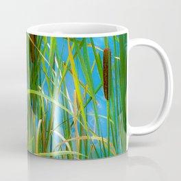 Cattails Along the Rio Grande River Coffee Mug