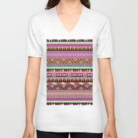 climbing V-neck T-shirts featuring OVERDOSE by Bianca Green