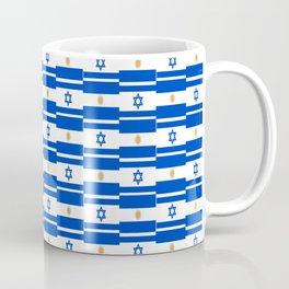 Mix of flag: Israel and Argentina Coffee Mug