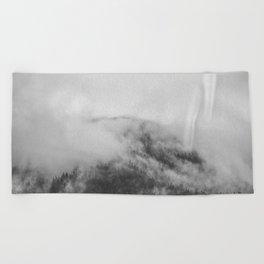 Moody clouds 1 Beach Towel