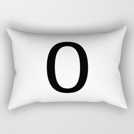 0 - Zero Rectangular Pillow
