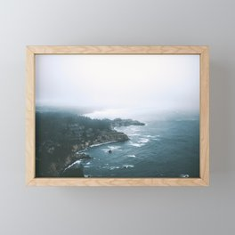 Cape Foulweather Framed Mini Art Print