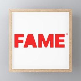 FAME Framed Mini Art Print