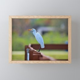 On the Rails Framed Mini Art Print