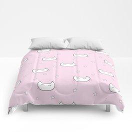 kitty star pattern Comforters