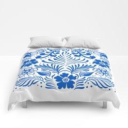 Mexican Folk Floral Ornaments Comforters