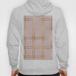 Glowing desires rose gold blush Hoody