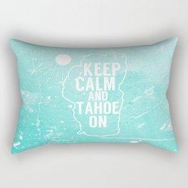 Keep Calm and Tahoe On Rectangular Pillow