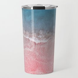Bahamas pink blue Travel Mug
