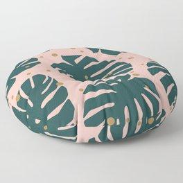 Tropics Green Floor Pillow