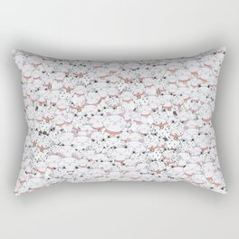 FIND THE PANDA - LUCKY CAT Rectangular Pillow