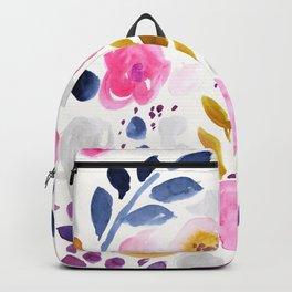 Pink Affair Floral Backpack