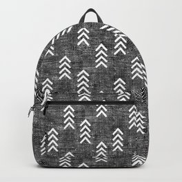 boho arrows on grey Backpack