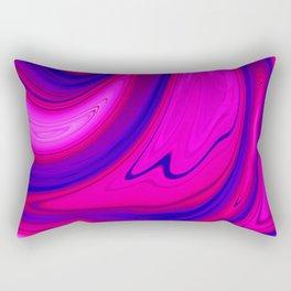 Abstract Fluid 12 Rectangular Pillow