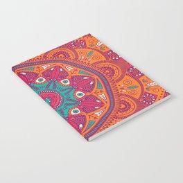 Colorful Mandala Pattern 017 Notebook