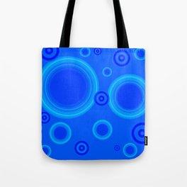 Hypnotic Blue Tote Bag