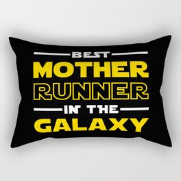 Best Mother Runner In The Galaxy Rectangular Pillow