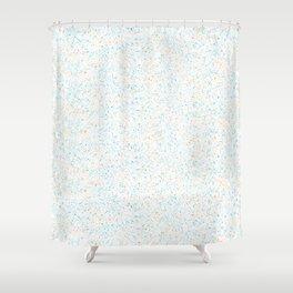 Splatter - Orange Blue Colorway Shower Curtain
