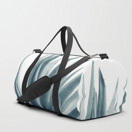 Agave Blue Vibe #1 #tropical #decor #art #society6 Duffle Bag