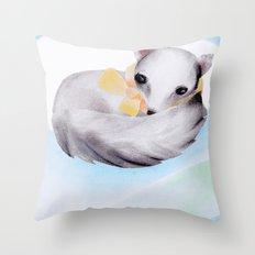 Reindeer'n friends Throw Pillow