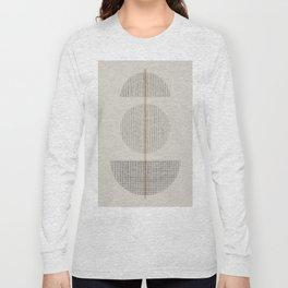 Geometric Composition Long Sleeve T-shirt