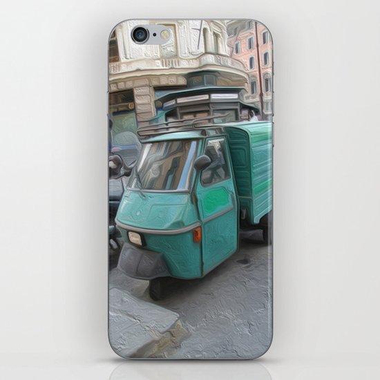 Tri motor iPhone & iPod Skin