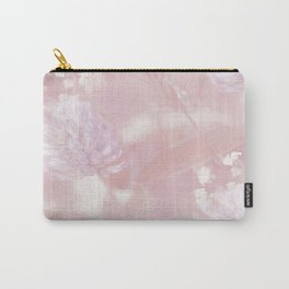 Romantic Moment Pink White Flowers #decor #society6 Carry-All Pouch